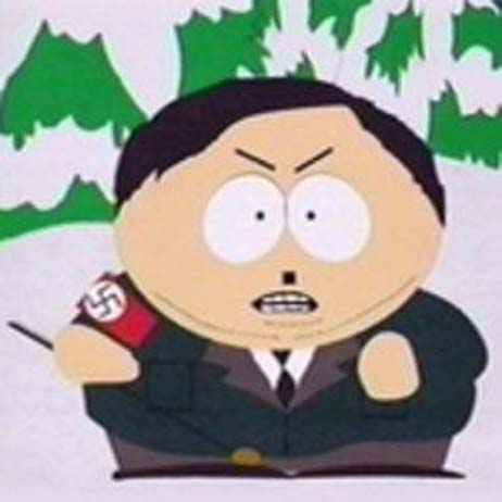 Cartman in denial? (Image: Southpark)